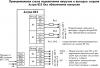 Астра-823 Схема подключений